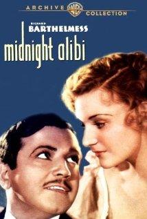 Midnight Alibi 1934 poster