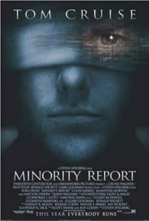 Minority Report (2002) cover