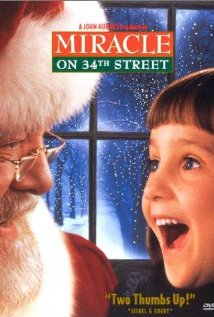 Miracle on 34th Street (1994) cover
