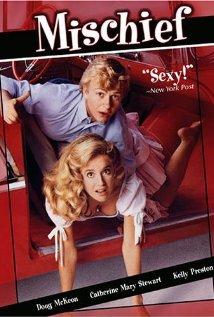 Mischief 1985 poster