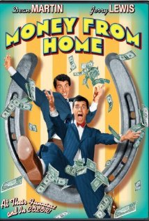 Money from Home 1953 poster