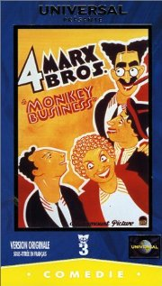 Monkey Business 1931 poster