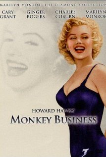 Monkey Business 1952 poster