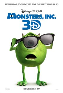 Monsters, Inc. (2001) cover
