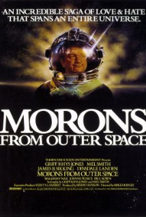 Morons from Outer Space (1985) cover