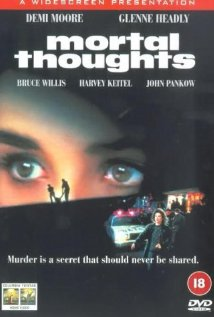 Mortal Thoughts 1991 poster