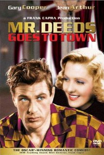 Mr. Deeds Goes to Town 1936 poster
