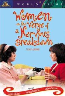 Mujeres al borde de un ataque de nervios (1988) cover