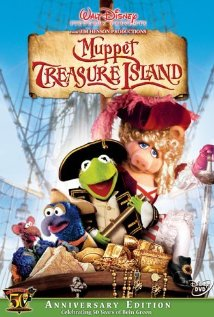 Muppet Treasure Island (1996) cover