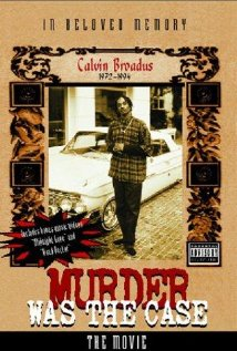 Murder Was the Case: The Movie (1995) cover