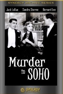 Murder in Soho (1939) cover