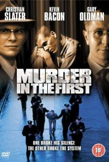 Murder in the First (1995) cover