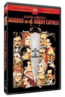 Murder on the Orient Express (1974) cover
