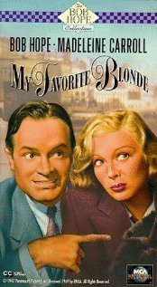 My Favorite Blonde (1942) cover