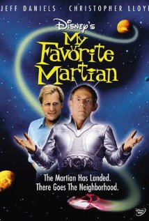 My Favorite Martian (1999) cover