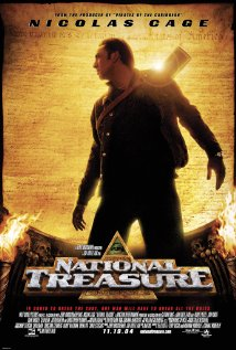 National Treasure (2004) cover