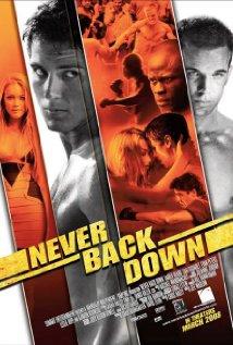Never Back Down 2008 copertina
