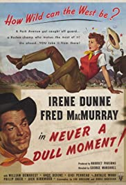 Never a Dull Moment (1950) cover