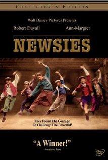 Newsies (1992) cover