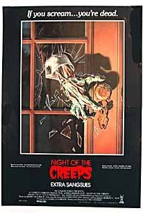 Night of the Creeps 1986 poster