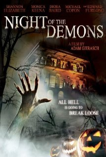 Night of the Demons 2009 poster