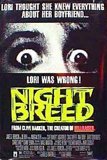 Nightbreed 1990 poster