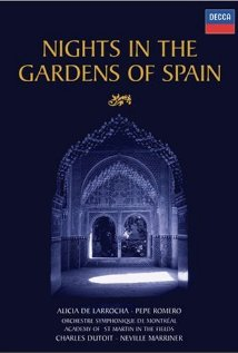 Nights in the Gardens of Spain (1992) cover