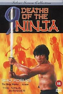 Nine Deaths of the Ninja (1985) cover