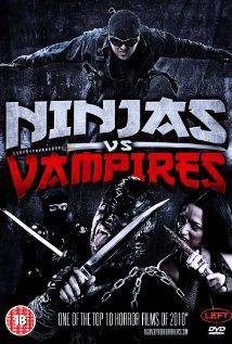 Ninjas vs. Vampires 2010 poster
