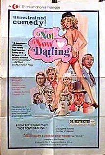 Not Now Darling (1973) cover