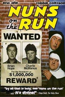 Nuns on the Run (1990) cover
