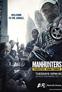 Manhunters: Fugitive Task Force 2008 poster
