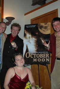 October Moon (2005) cover