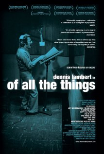 Of All the Things (2008) cover