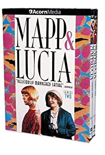 Mapp & Lucia 1985 poster