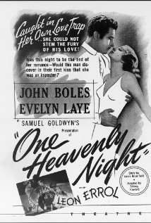 One Heavenly Night (1931) cover