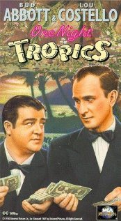 One Night in the Tropics (1940) cover