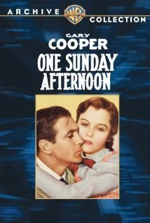 One Sunday Afternoon (1933) cover