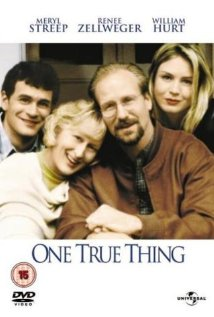 One True Thing 1998 poster