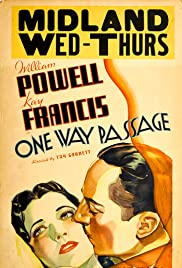 One Way Passage (1932) cover