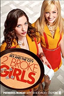2 Broke Girls (2011) cover