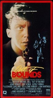 Out of Bounds 1986 poster
