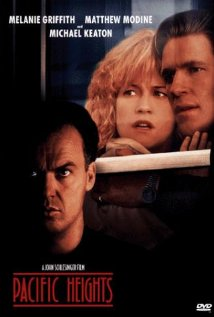 Pacific Heights 1990 poster