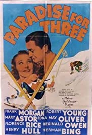 Paradise for Three (1938) cover
