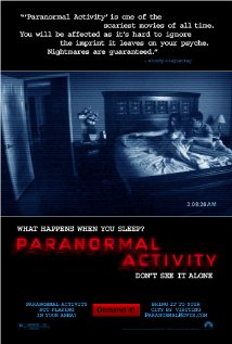 Paranormal Activity (2007) cover