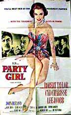 Party Girl 1958 poster