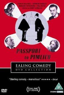 Passport to Pimlico 1949 poster