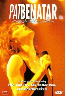 Pat Benatar: Live in New Haven (1983) cover