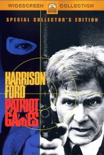 Patriot Games (1992) cover