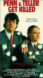 Penn & Teller Get Killed 1989 poster